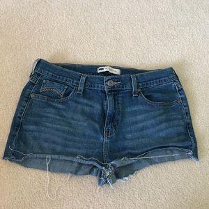 Levi's 505 straight leg shorts